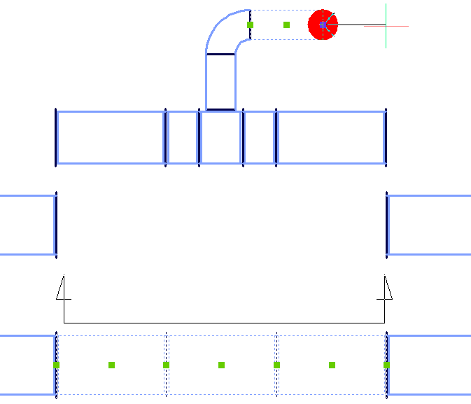 VENTPACK auxiliary cross section 1
