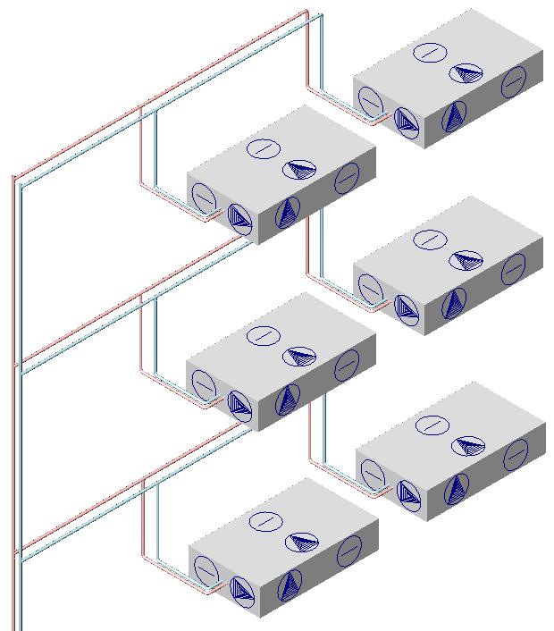HYDRONICPACK Przekrój 3D 2