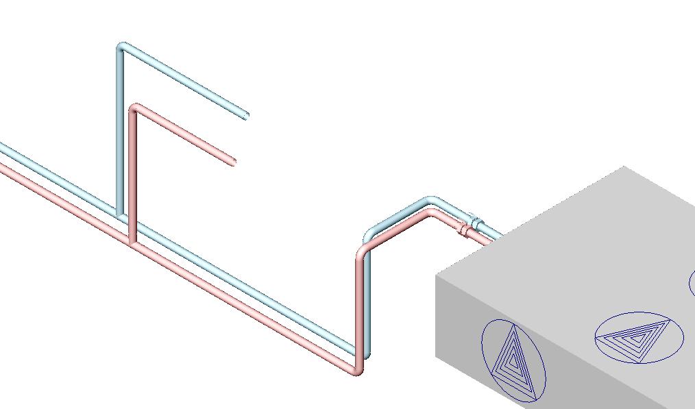 HYDRONICPACK Przekrój pomocniczy 3D 2