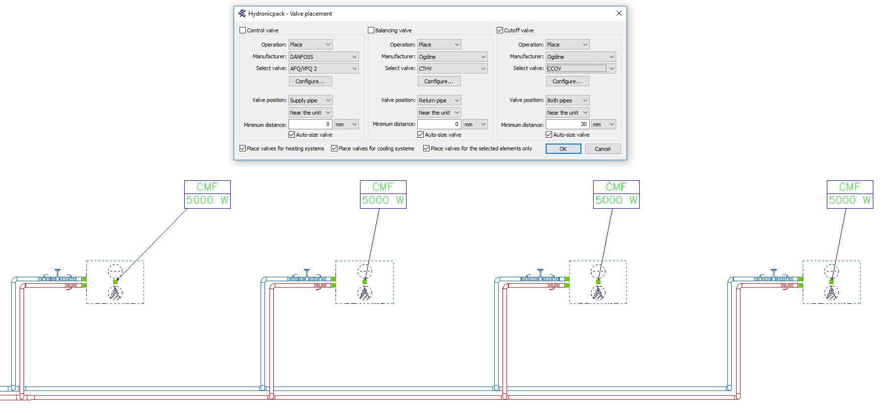 HYDRONICPACK Valve placing 2D 1 EN