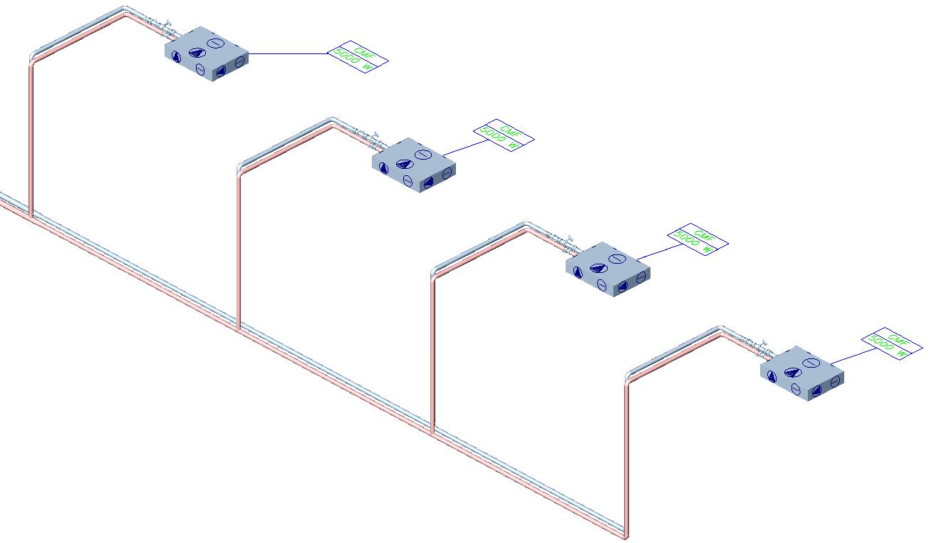HYDRONICPACK Valve placing 3D 1 EN